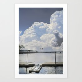 Look at that sky Art Print