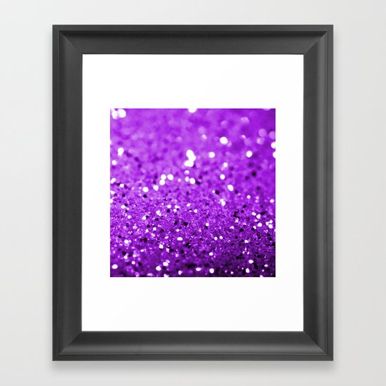 Glitter Framed Art Print