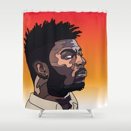 Isaiah Rashad Shower Curtain