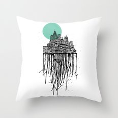 City Drips Throw Pillow
