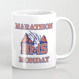 Marathon Monday blue mountain Coffee Mug