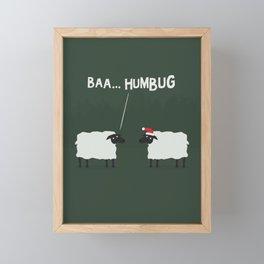 BAA... Humbug Framed Mini Art Print