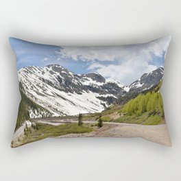 Chattanooga Loop and the Mill Creek Valley Rectangular Pillow