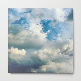 In the Clouds Metal Print