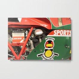 Ducati Motor Metal Print