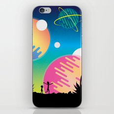 Rick and Morty iPhone & iPod Skin