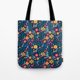 """Cute Floral pattern of small flowers. """"Ditsy print"""". Tote Bag"""