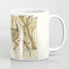 Wintering Deer Coffee Mug