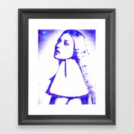 Kate Moss Framed Art Print