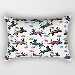 FRISBEE DOGS Rectangular Pillow