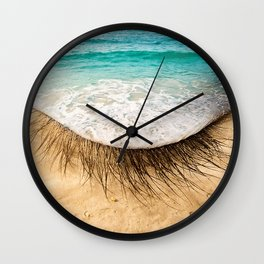 Eye sea you Wall Clock