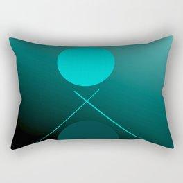 The 3 dots, power game 15 Rectangular Pillow