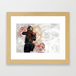 sv_cheats 1 Framed Art Print