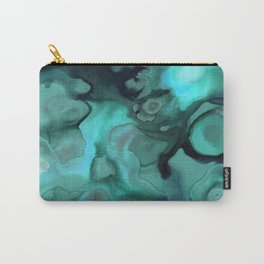 Ebb and Flow - Emerald Carry-All Pouch