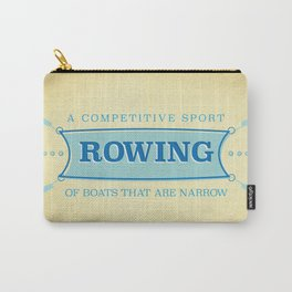 A Competitive Sport. Carry-All Pouch