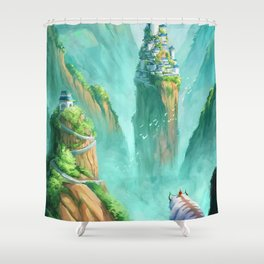 The Last Airbender  Shower Curtain