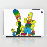 simpsons iPad Cases featuring The Simpsons by Luna Portnoi