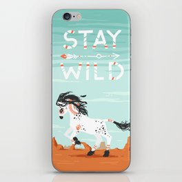 Stay Wild iPhone Skin