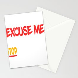 """Excuse Me Tell Your Boobs To Stop Staring At Me"" tee design. Naughty and hilarious gift too!  Stationery Cards"