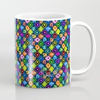 geode Mugs featuring Geode Delight! by Sylvie Heasman