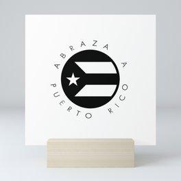 Abraza A Puerto Rico Mini Art Print