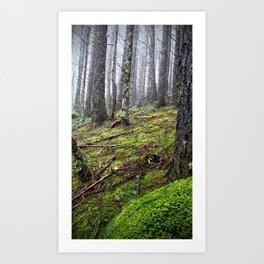 (#37) Thick Green Moss Art Print