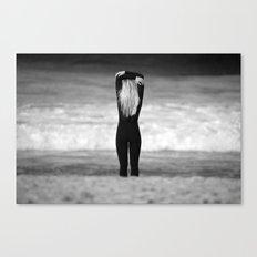 Surfer girl. Canvas Print