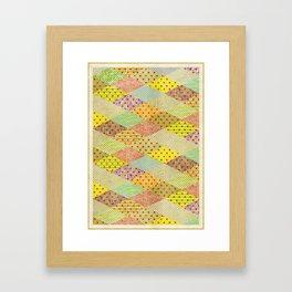 SPONGE CAKE / PATTERN SERIES 001 Framed Art Print