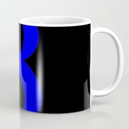 8 (BLUE & BLACK NUMBERS) Coffee Mug