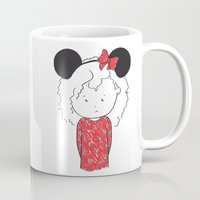minnie Mugs featuring Minnie 5 by Little Moon Dance
