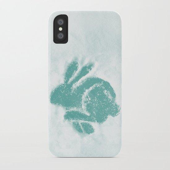 Snowbunny iPhone Case