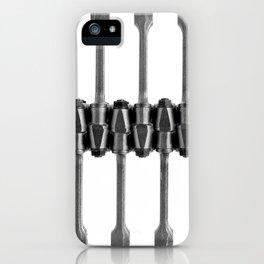 Piston rod iPhone Case