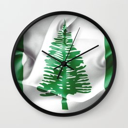 Norfolk Island Flag Wall Clock