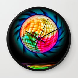 Digital Painting 2 Wall Clock