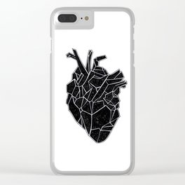 Heart Clear iPhone Case