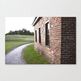 Brick Wall Canvas Print