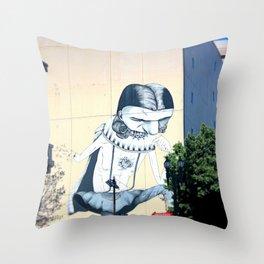 downtown LA Throw Pillow