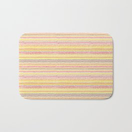 Summer Pattern Bath Mat