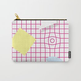 Memphis pattern+1 Carry-All Pouch
