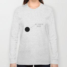 hole Long Sleeve T-shirt