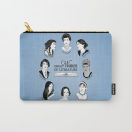 Great Women of Literature Carry-All Pouch