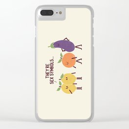 Sex Symbols Clear iPhone Case