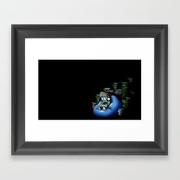 Backlog Framed Art Print