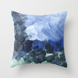 i reached into the sky Throw Pillow