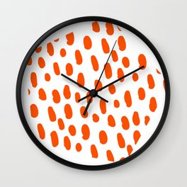 Pattern and Pattern Wall Clock