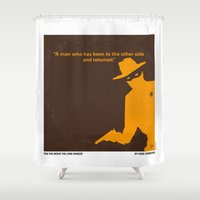 lawyer Shower Curtains featuring No202 My The Lone Ranger minimal movie poster by Chungkong