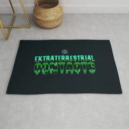 Extraterrestrial contacts Rug