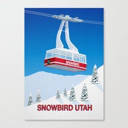 Snowbird Ski Resort Canvas Print
