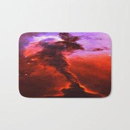 Red Nebula Bath Mat