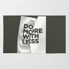 Do More With Less Rug